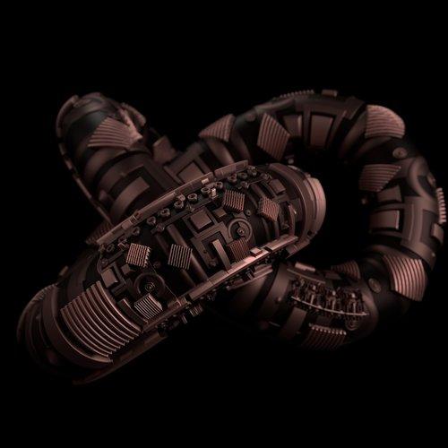 torus knot  sci-fi  futuristic