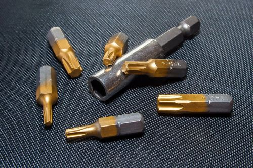 torx bits metal