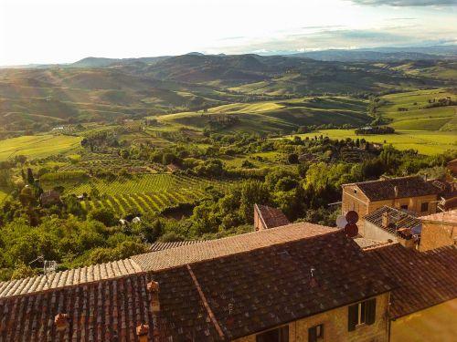 toscana,kalnas,nuotaika,italy,kraštovaizdis,montepulciano,idiliškas,Toskanos kraštovaizdis
