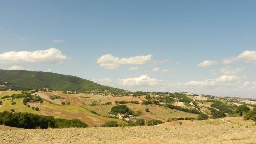 toscana italia landscape