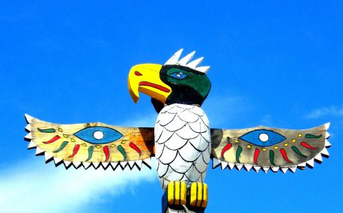 totem pole bird