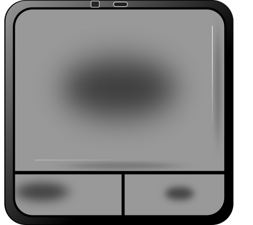 touchpad computer control