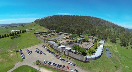 pilis, australia, Viktorija, turizmas, antena, turistinis, turistinė pilis australia