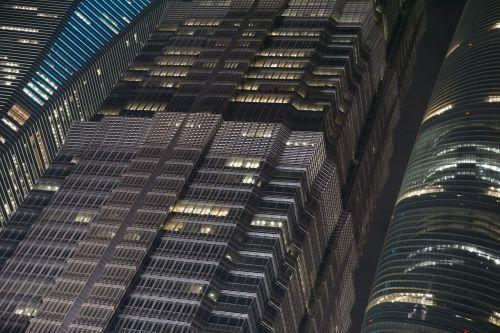 turai,šiuolaikiška,naktis,langai,architektūra,skyscaper,verslas,pastatai,moderni architektūra