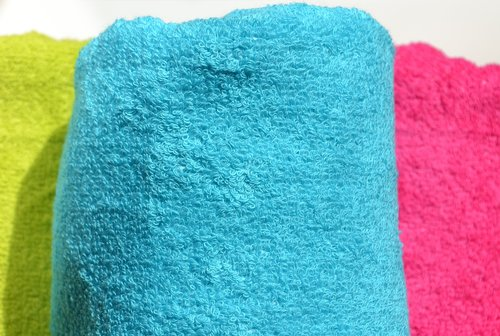 towels  terry  color
