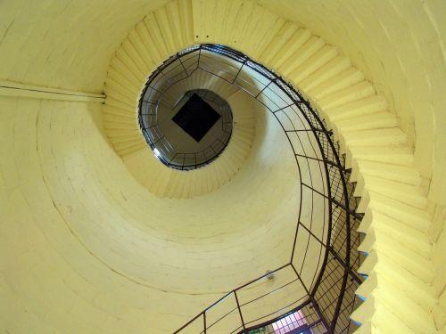 tower stairs lantern