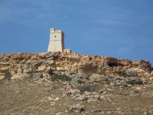 tower watchtower cliffs