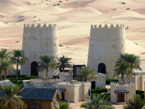 tower desert fortress