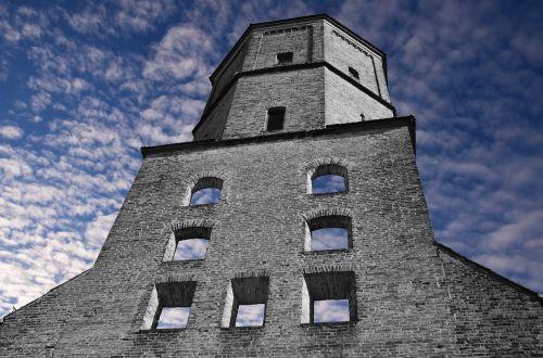 tower watchtower ruin