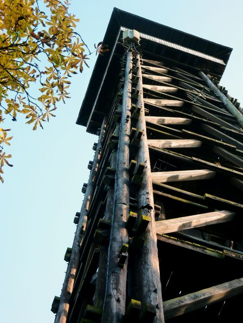 tower wooden tower observation tower