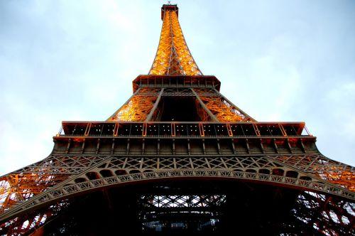 tower eiffel tower architecture