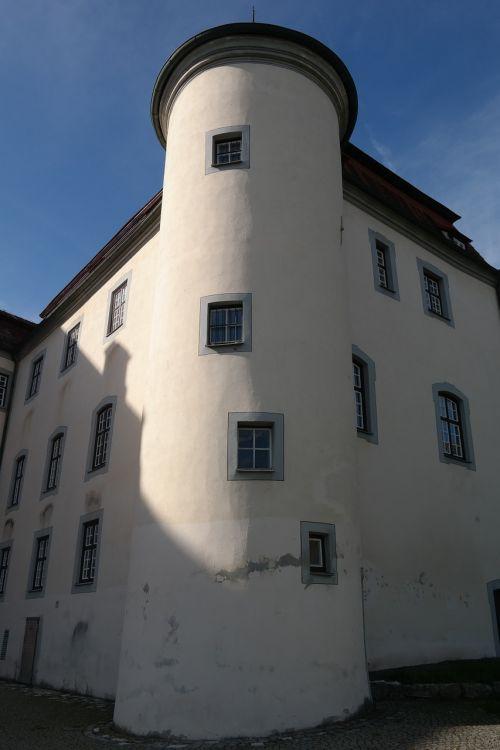 tower corner tower window