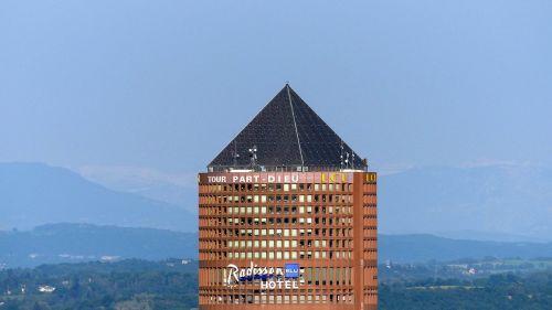 tower part-dieu roof