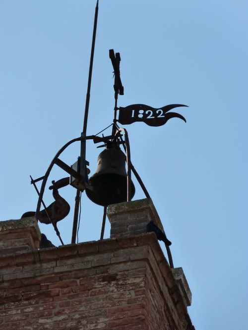 tower bell weather vane