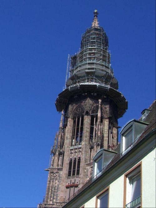 tower münster tower freiburg