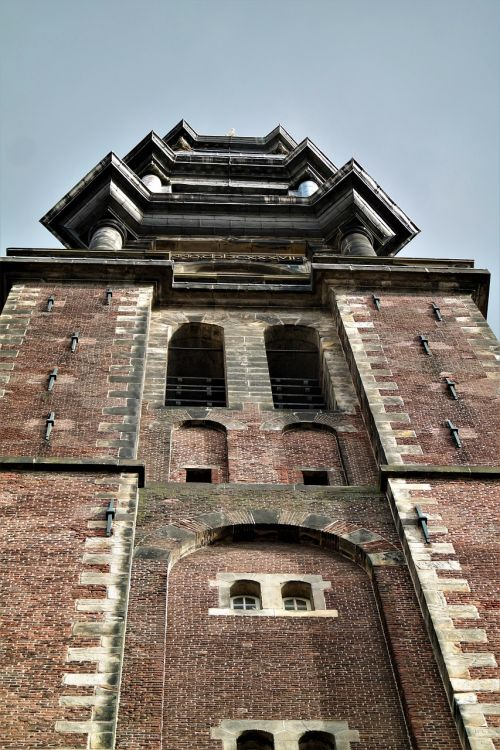 tower church building