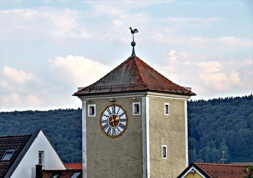 tower  old citywall  altmühltor