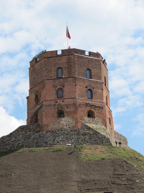 tower  lithuania  vilnius