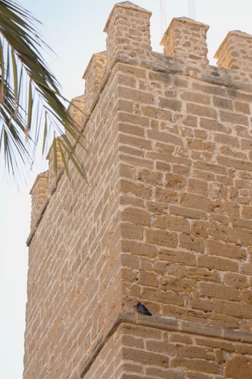 tower battlement spain