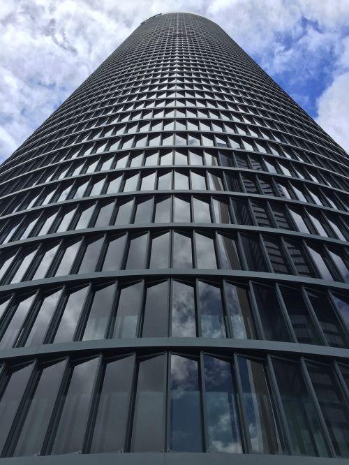 tower sky buildings