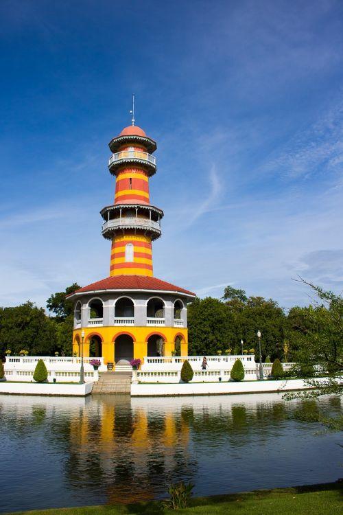 tower bang pa-in bang pa-in palace