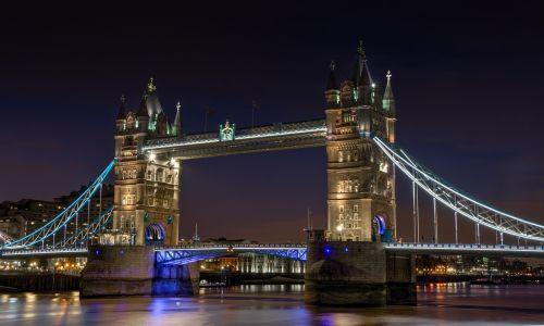 tower bridge bridge night