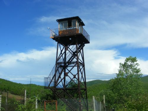 tower observatory concentration camp the old