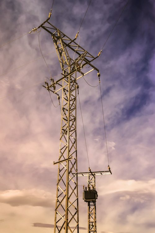 tower of electricity  power supply  electrical tower