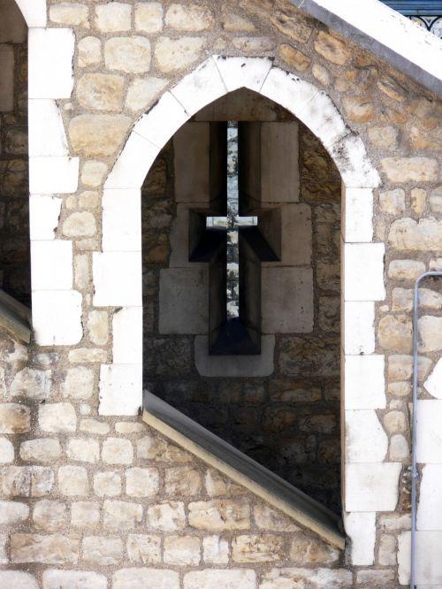 Tower Of London Window Cross