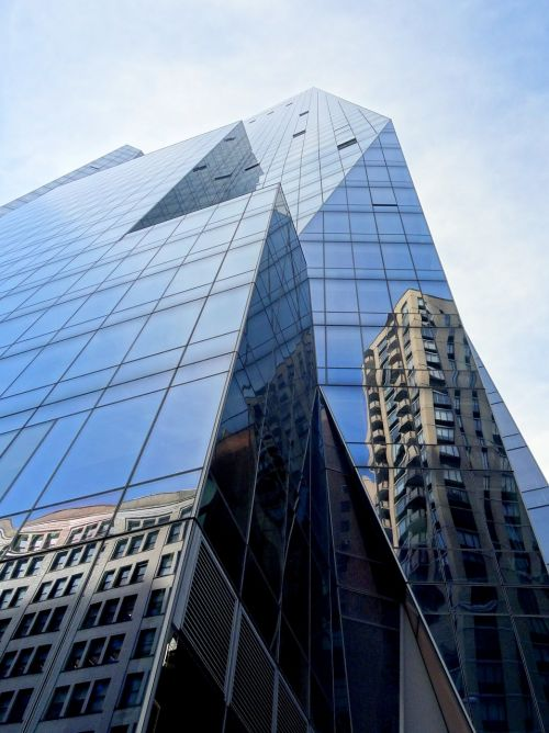 tower prism new york architecture
