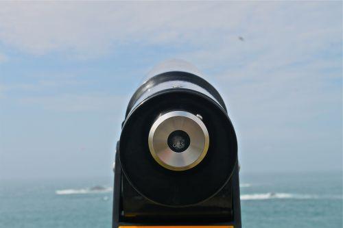 tower viewer lookout binoculars