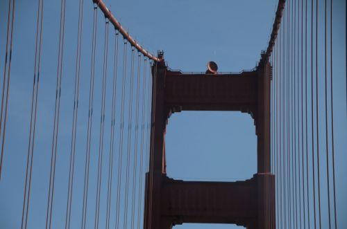 Towers Of Golden Gate Bridge