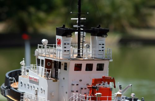 Towing Boat Model