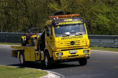 towing service nordschleife breakdown