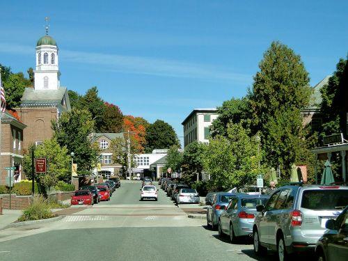 town street main street