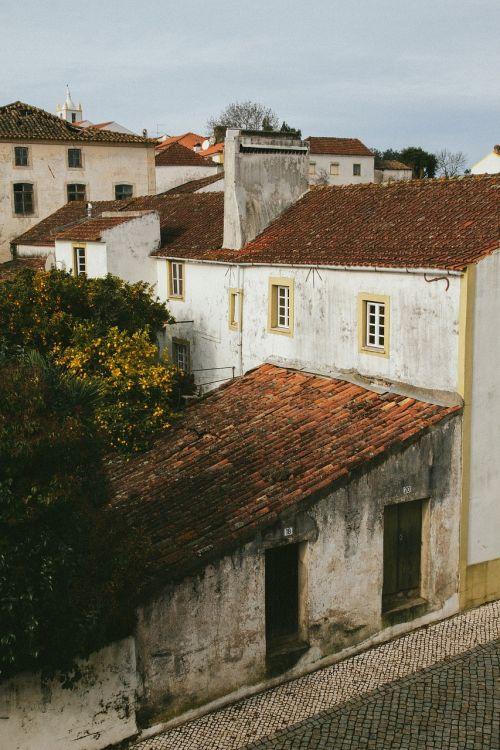town buildings houses