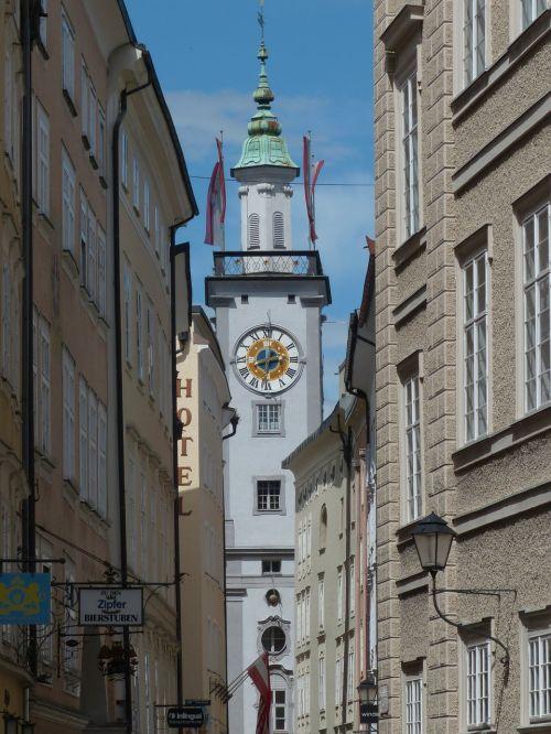 town hall town hall tower salzburg