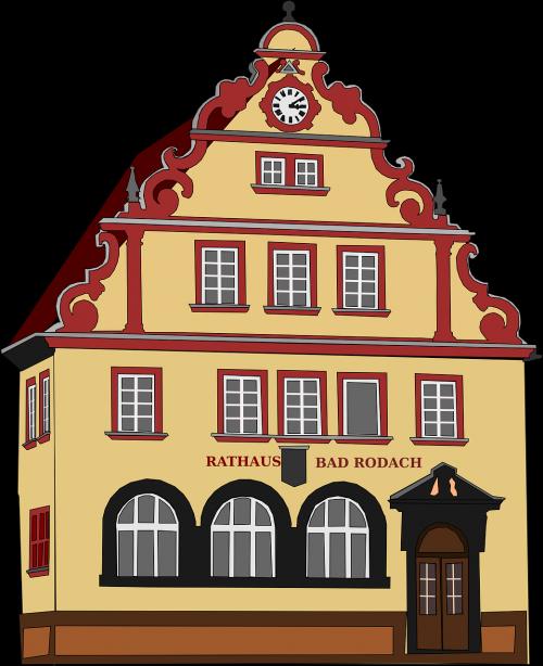 town hall town-hall city hall