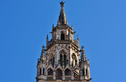 town hall munich spire