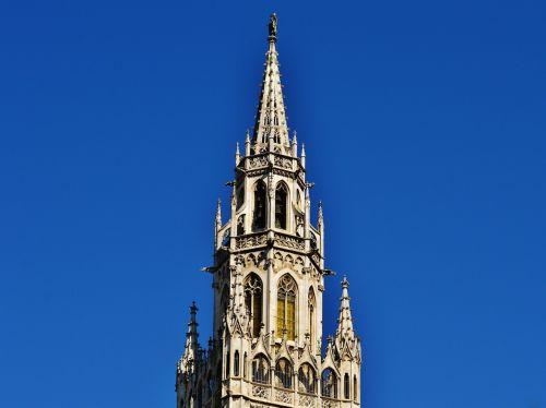 town hall spire munich