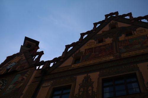 town hall ulm facade