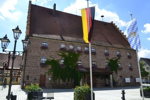 town hall heideck bavaria