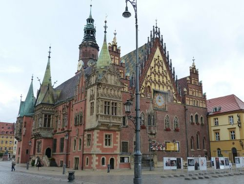 town hall wroclaw poland