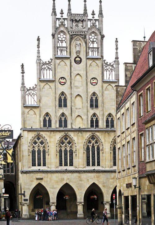 town hall münster westfalen