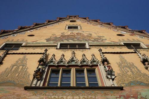 town hall ulm facade building