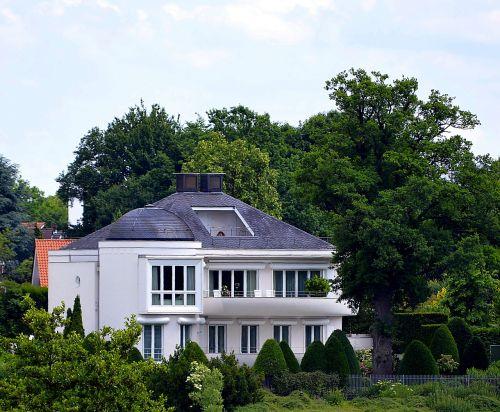 town house villa balcony