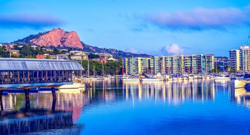 townsville boating townsville marina castle hill photo