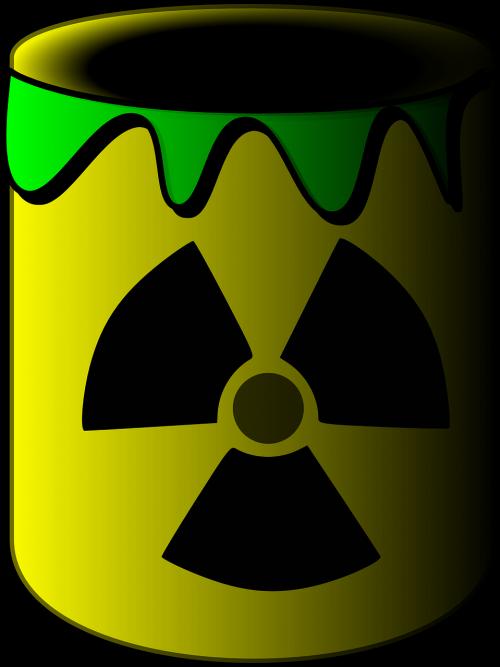 toxic dump radioactive