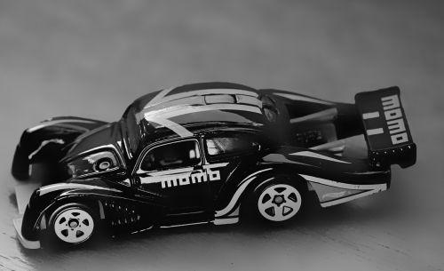 toy car monochrome