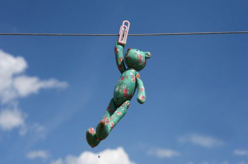toy pin clothesline